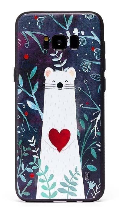 Чехол - накладка для Samsung S8 Plus силикон Ferret in Love