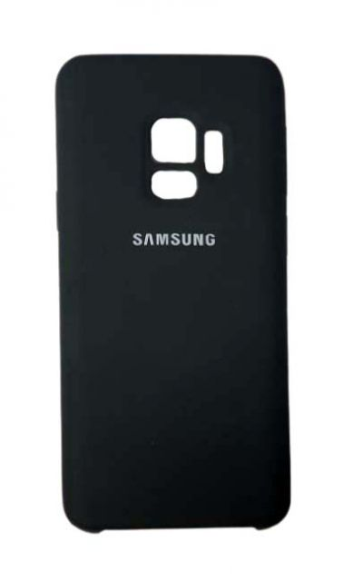 Чехол - накладка для Samsung S9 Silicone Cover Black