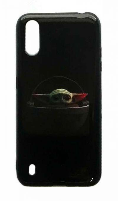 Чехол - накладка для Samsung A01 / M01 силикон Young Yoda