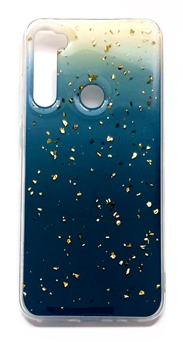 Чехол - накладка для Xiaomi Redmi Note 8T силикон Sparkles Abstract №5