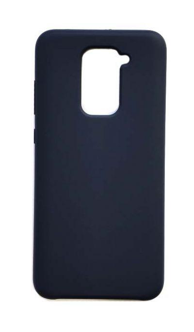 Чехол - накладка для Xiaomi Redmi Note 9 Silicone Cover Dark Blue