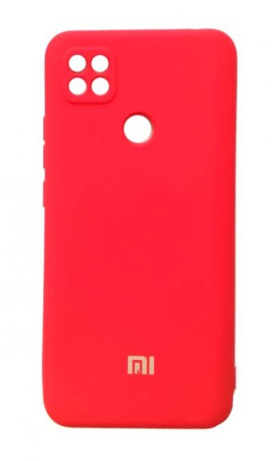 Чехол - накладка для Xiaomi Redmi 9C Silicone Cover Red org
