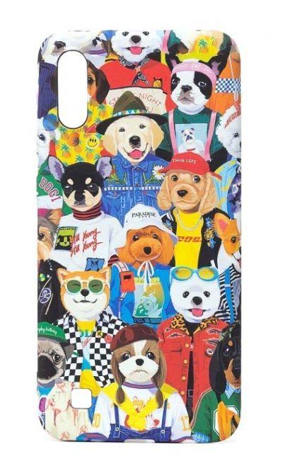 Чехол - накладка для Samsung A70 силикон Luxo Dog Fashion