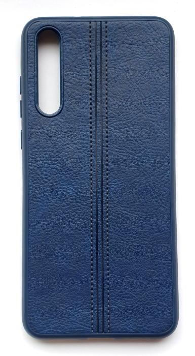 Чехол - накладка для Huawei P20 Pro силикон Leatherette Blue