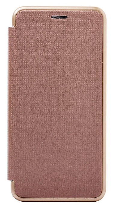 Чехол - книжка для Samsung A3 (2017) пластик Brera Like Gold