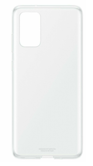 Чехол - накладка для Samsung S20 силикон прозрачный