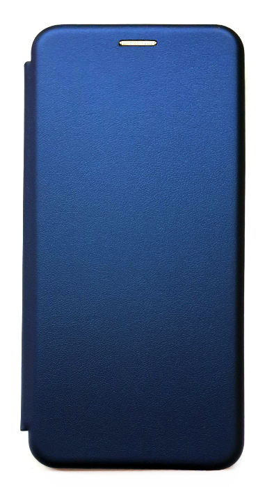 Чехол - книжка для Samsung A71 полиуретан Fashion Case Blue