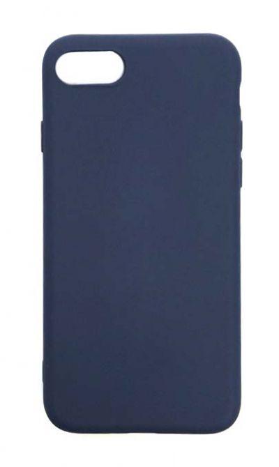 Чехол - накладка для iPhone 7 / 8 / SE 2020 силикон Dark Blue