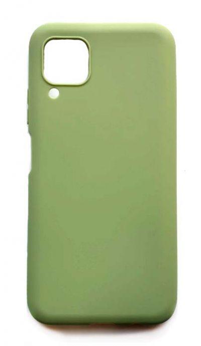 Чехол - накладка для Huawei P40 Lite силикон Olive