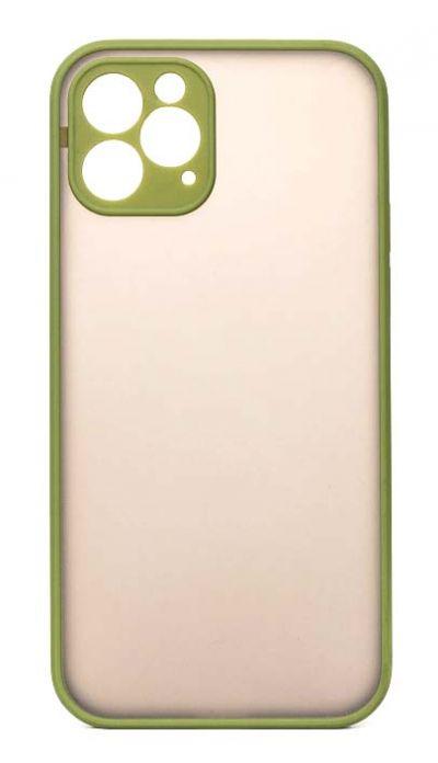 Чехол - накладка для iPhone 12 Pro пластик Matt TPU Green