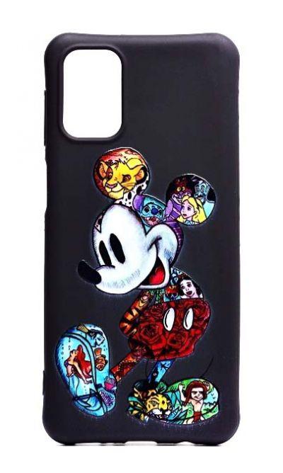Чехол - накладка для Samsung M31s силикон SM Mickey Mouse
