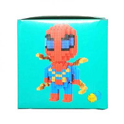 Конструктор Puzzle Toys - Spider-Man №2 (860 деталей)