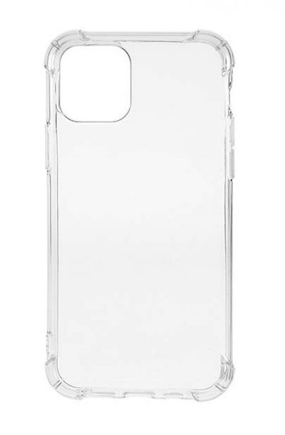 Чехол - накладка для iPhone 12 силикон HD TPU прозрачный