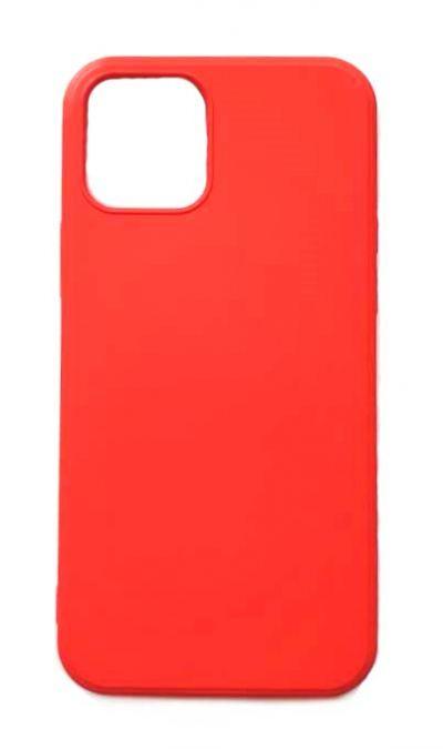 Чехол - накладка для iPhone 12 mini силикон Red org