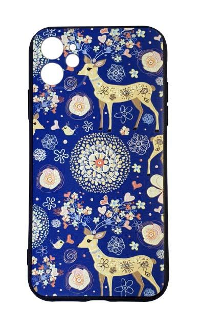Чехол - накладка для iPhone 11 силикон Fabulous Deer