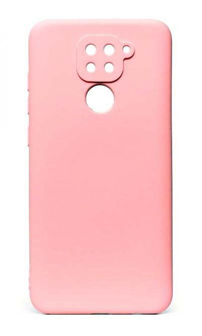 Чехол - накладка для Xiaomi Redmi Note 9 силикон Activ Full Pink