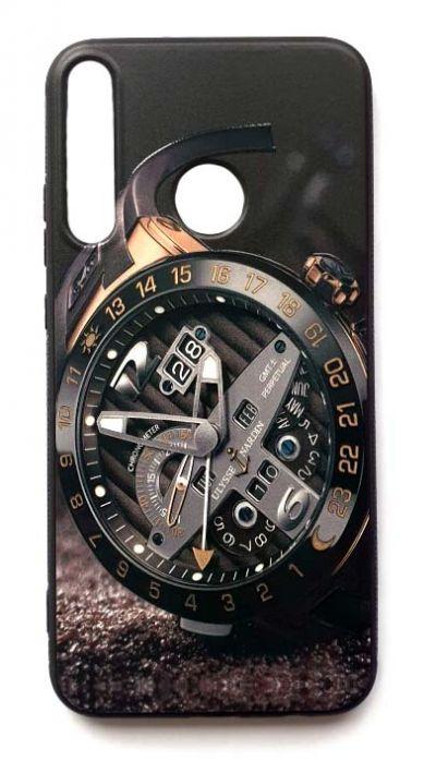 Чехол - накладка для Honor 10i силикон Clock Face