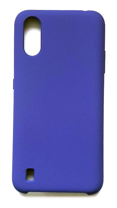 Чехол - накладка для Samsung A01 / M01 Silicone Cover Dark Violet org