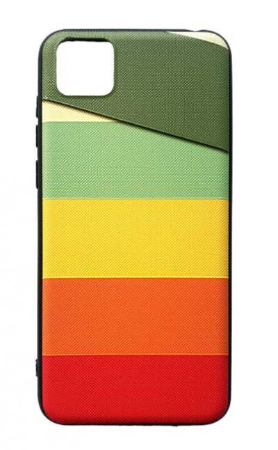 Чехол - накладка для Honor 9S / Huawei Y5P силикон Colored Lines Fhorme