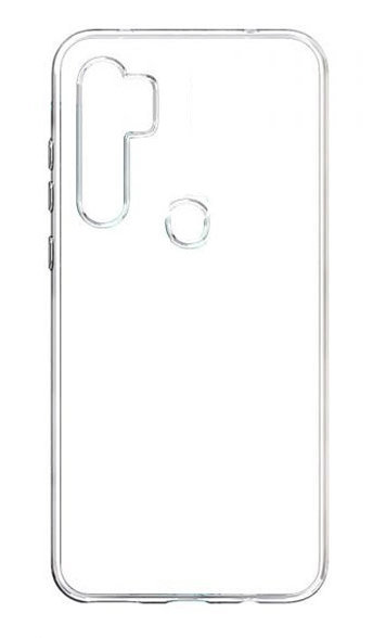 Чехол - накладка для Xiaomi Redmi Note 8T силикон прозрачный