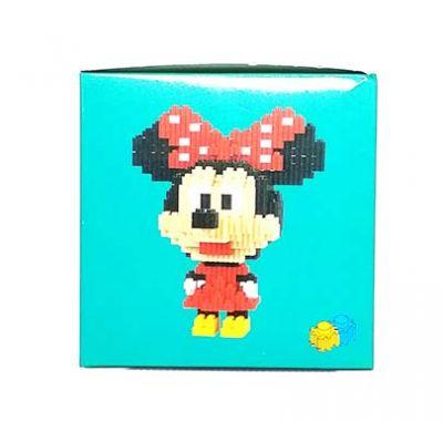 Конструктор Puzzle Toys - Minnie Mouse (758 деталей)