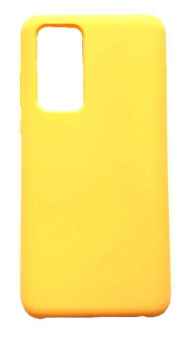 Чехол - накладка для Huawei P40 Pro / P40 Pro+ Silicone Cover Yellow
