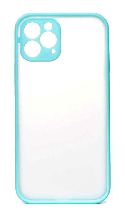 Чехол - накладка для iPhone 12 Pro пластик Matt TPU Sky Blue