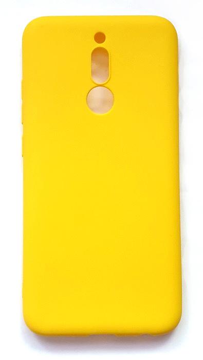 Чехол - накладка для Xiaomi Redmi 8 силикон Yellow