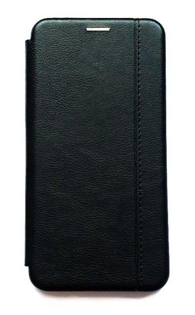 Чехол - книжка для Xiaomi Redmi Note 9 полиуретан Fashion Case Black