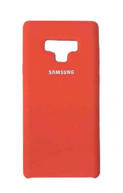 Чехол - накладка для Samsung Note 9 Silicone Cover Red