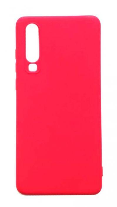 Чехол - накладка для Huawei P30 силикон Red