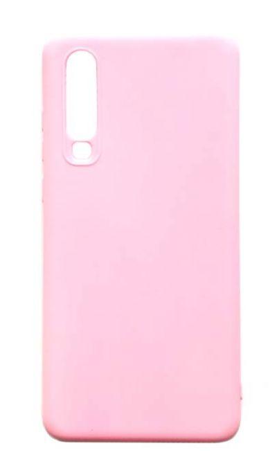 Чехол - накладка для Huawei P30 силикон Pink