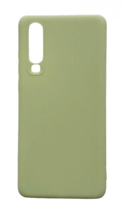 Чехол - накладка для Huawei P30 силикон Olive