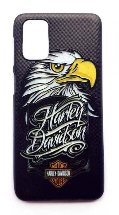 Чехол - накладка для Samsung M31s силикон Harley Davidson Eagle