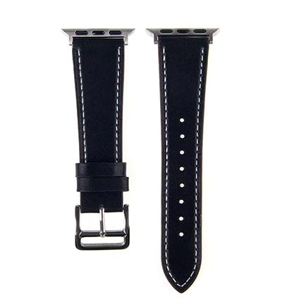 Ремешок для Apple Watch 38 / 40 мм с классической застежкой (black)