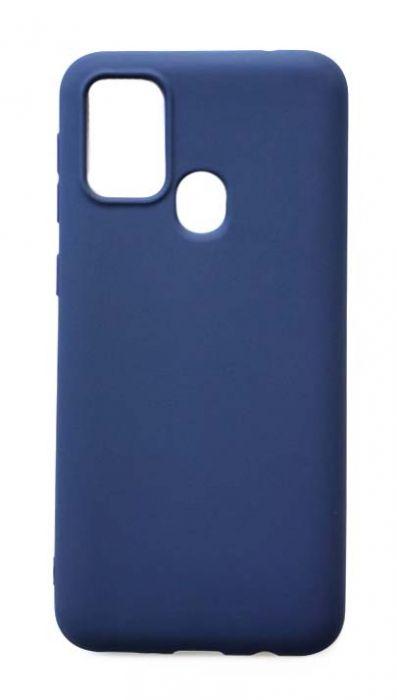 Чехол - накладка для Samsung M31 силикон Dark Blue
