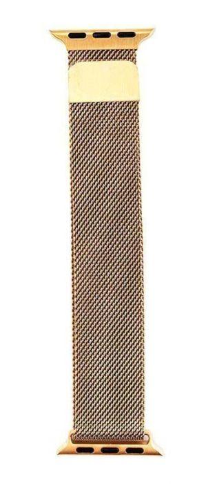 Ремешок для Apple Watch 38 / 40 мм Миланская петля, металл Gold