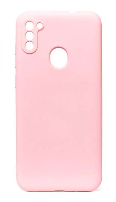 Чехол - накладка для Samsung A11 / M11 силикон Activ Full Light Pink