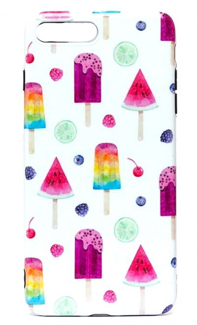 Чехол - накладка для iPhone 7 / 8 Plus силикон Icecream
