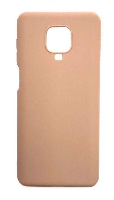 Чехол - накладка для Xiaomi Redmi Note 9 Pro / Note 9S силикон Brown