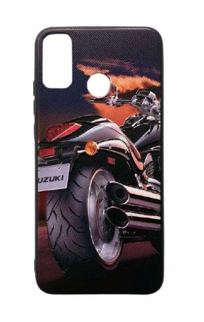 Чехол - накладка для Honor 9X Lite силикон Motorcycle