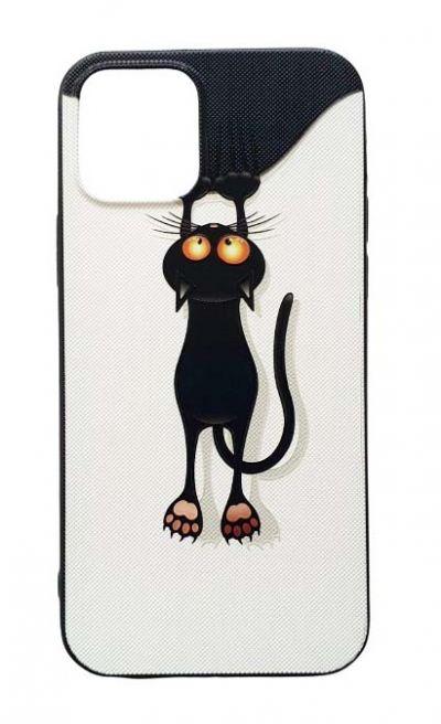 Чехол - накладка для iPhone 12 mini силикон Cat Fhorme