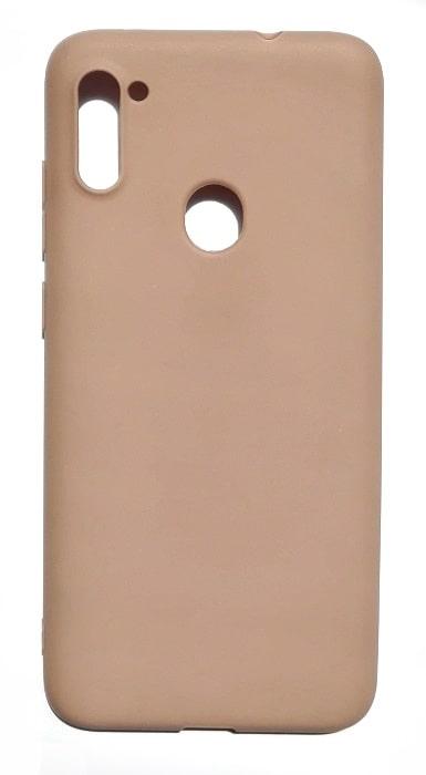 Чехол - накладка для Samsung A11 / M11 силикон Brown