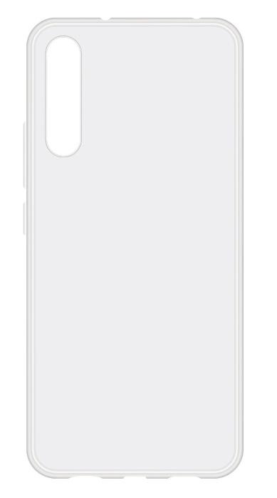 Чехол - накладка для Huawei P20 силикон прозрачный