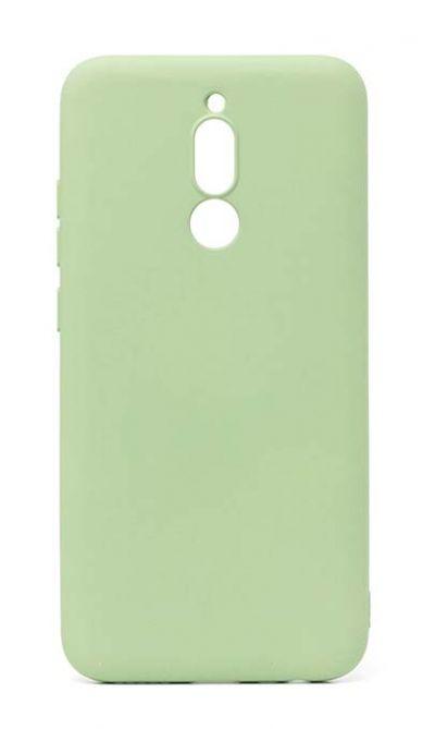 Чехол - накладка для Xiaomi Redmi 8 силикон Activ Full Light Green