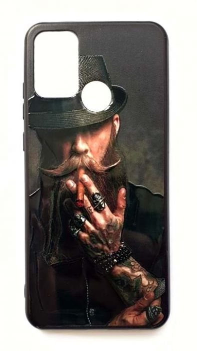 Чехол - накладка для Samsung M21 / M30s силикон Hipster №2