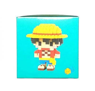Конструктор Puzzle Toys - Luffy Monkey D (550 деталей)