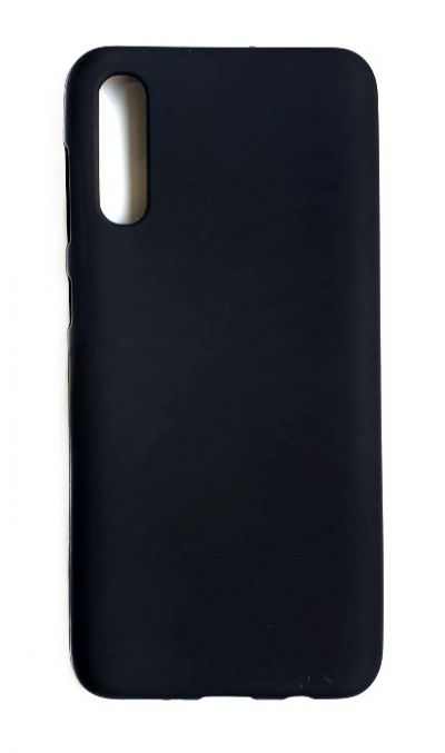 Чехол - накладка для Samsung A50 / A30S силикон Black