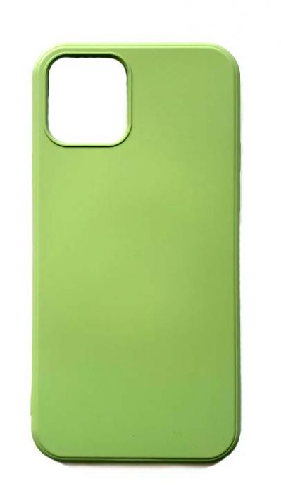 Чехол - накладка для iPhone 12 / 12 Pro силикон Light Green org