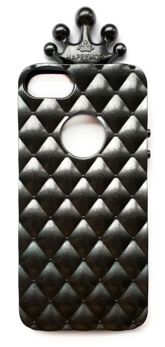 Чехол - накладка для iPhone 5 / 5S / SE силикон Happymori Black